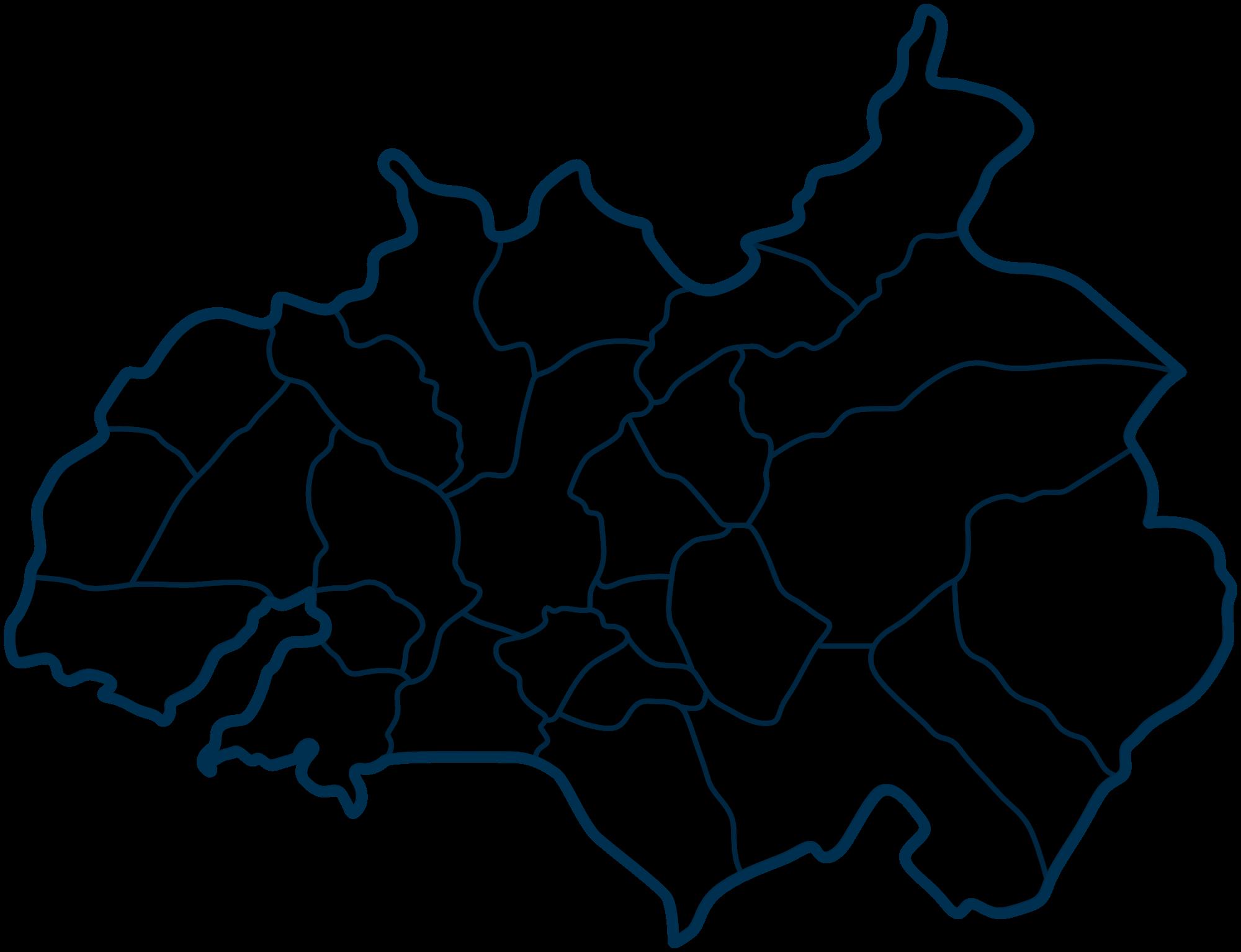mapa do concelho de amarante Freguesias | Portal do Município de Amarante mapa do concelho de amarante